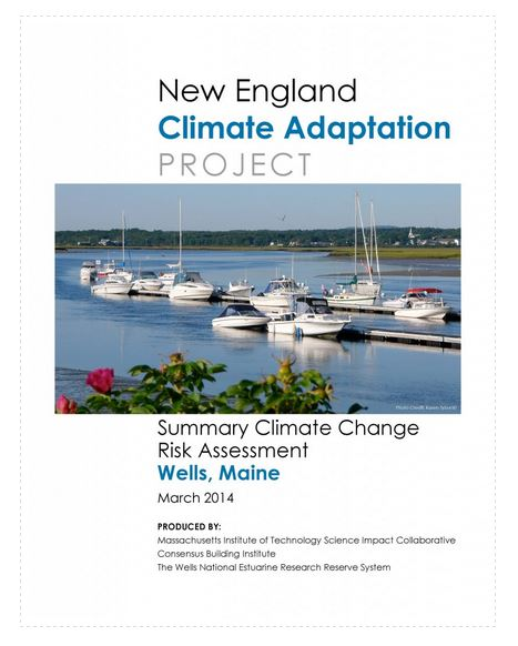 New England Climate Adaption Project - Wells, Maine Risk Assessment by MIT