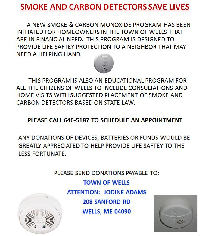 Smoke and Carbon Monoxide Program