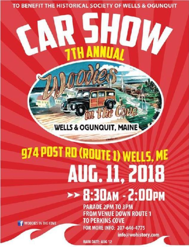 Wells ME Official Website - Car show sponsorship levels