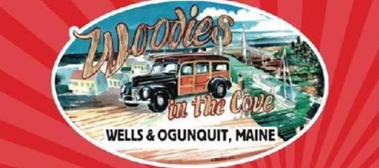 Woodies in the Cove - car at beach image