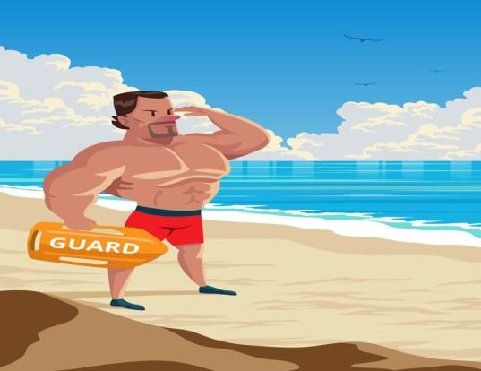 Wells Ocean Rescure Lifeguard Image for newsflash