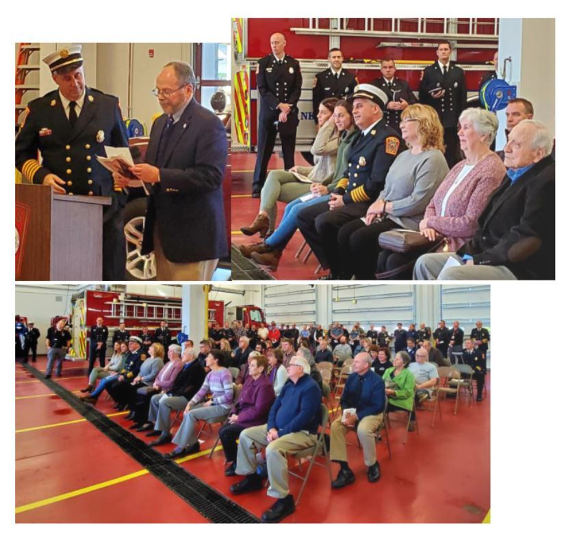 Chief Dupuis Swearing In Ceremony Pictures